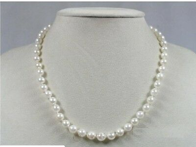 "Baroque Akoya Saltwater Cultured Pearl Necklace 20"" with Sterling Silver Clasp"