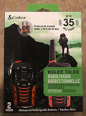 Cobra Acxt545 Walkie Talkie Altis Global Limited Christmas Gift Shop