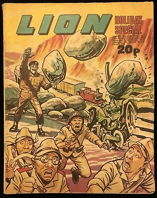Lion Summer Special 1974 - Holiday Action - Fleetway - Nice Copy
