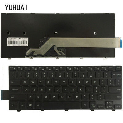 NEW For Dell Inspiron 14-3000 3443 3451 3458 3468 3445 3442 Laptop Keyboard