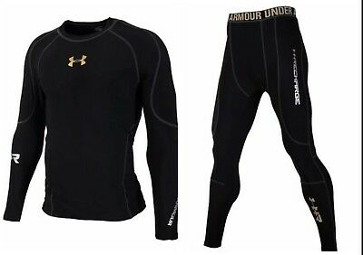 Under Armour Men's Cold-Gear Long Tight and Long Sleeve Compression All size