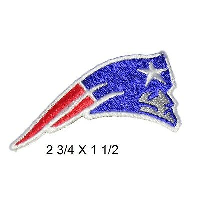 New England Patriots iron on patches, 2.75 inch embroidered emblem team patch ..