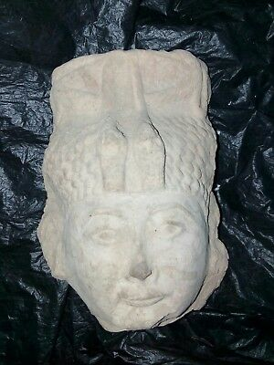 Rare Antique Ancient Egyptian limestone Head of queen bc