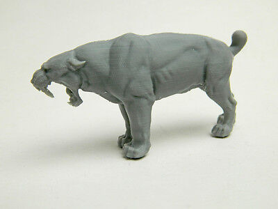 Smilodon or sabertooth-  1/24 scale  The Cat is Back by Popular Demand!!!