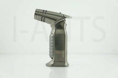 Zico Refillable Adjustable Quad Torch Lighter Easy Soft Ignition