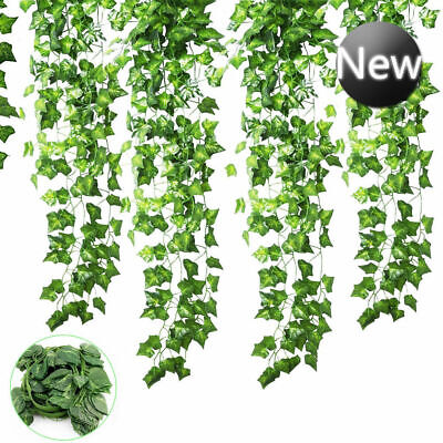 Artificial English 7ft 200cm Ivy Trailing Garland Vine Plant Garden Wedding UK