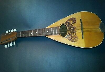 Antique Mandolin (Improved Columbus) good sound & condition 18 in string-length
