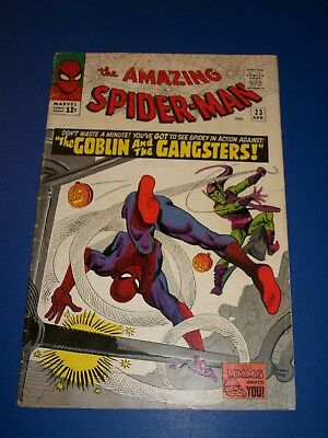 Amazing Spider-man #23 Silver Age Comic 3rd Green Goblin Key Issue Solid VG+