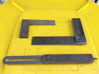 3 X Stanley Square Tools