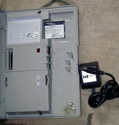 Nortel NTAB2455 Norstar Flash 4 Port Voicemail Software Card & AC Power Adapter