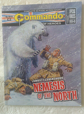 "Commando Comic #4915  ""Nemisis Of The North"""