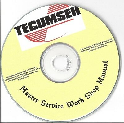 Tecumseh Small Engine Repair Manual Lawn Mower Repair Carburetor Service  Parts