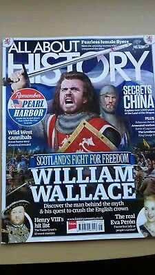 All About History Magazine  Issue 45. William Wallace. Great For Gcse History.