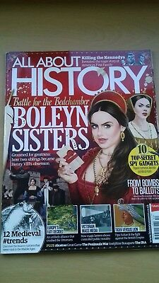 All About History Magazine  Issue 52. Boleyn Sisters. Great For Gcse History.