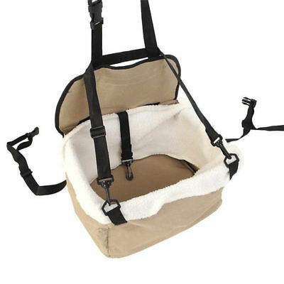 Pets Beige Car Booster Seat & Carrier For Dog/puppy/cat Travel/cage/safe