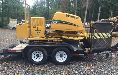 Vermeer SC60TX with Custom Tilt Trailer (#2318)