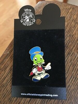 Jiminy Cricket Pin New On Display Card 2005