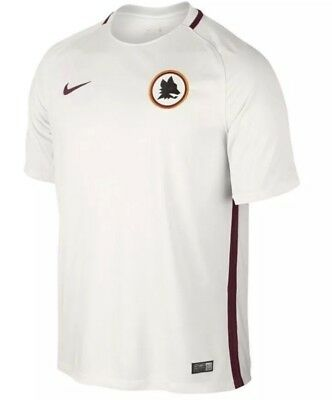 Nike Mens AS Roma Away Football Soccer Shirt Size Medium, 776962-001 BNWT