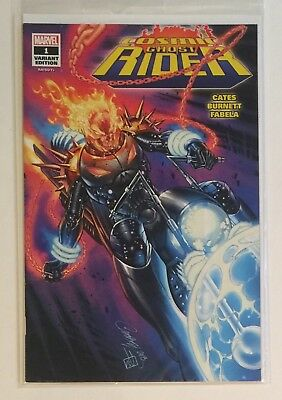 Sdcc Cosmic Ghost Rider #1 • J Scott Campbell • Glow In The Dark • Limited 1000