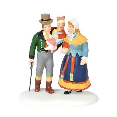 Family Outing Dept 56 Alpine Village Series 6000567 Christmas accessory A