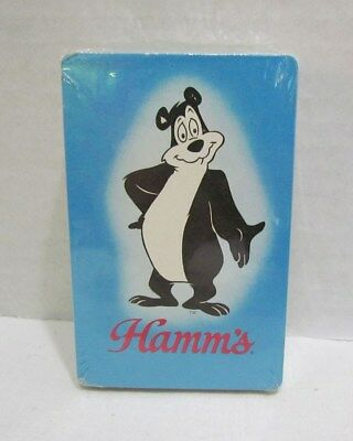 Hamm's Bear Vintage Playing Cards Card Deck Factory Sealed Hamms Bear Stardust
