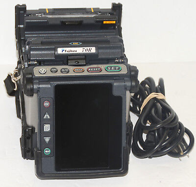 "Fujikura FSM-70R Fusion Splicer USA ""1260"" ARC Count"
