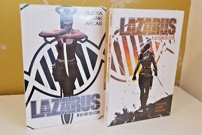Lazarus Graphic Novels Volume 1 And 2