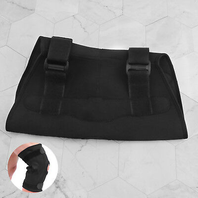 Adjustable Open Cap Patella Knee Support Pad Strap Brace with Metal Hinged XL