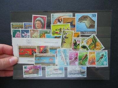 ESTATE: PNG Collection on Hagners - great mix of issues! great item (5001)