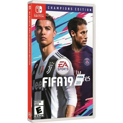 FIFA 19 2019 CHAMPIONS Edition (Nintendo Switch) BRAND NEW & FACTORY SEALED! nsw