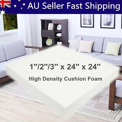24'' 60cm Square High Density Seat Foam Cushion Sheet Upholstery Replacement Pad