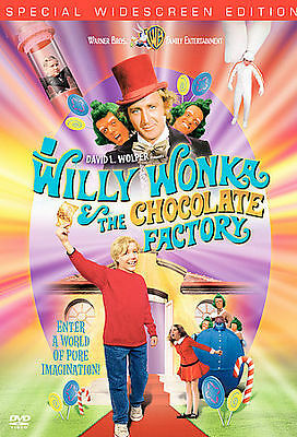 Willy Wonka And The Chocolate Factory (DVD, 2001)