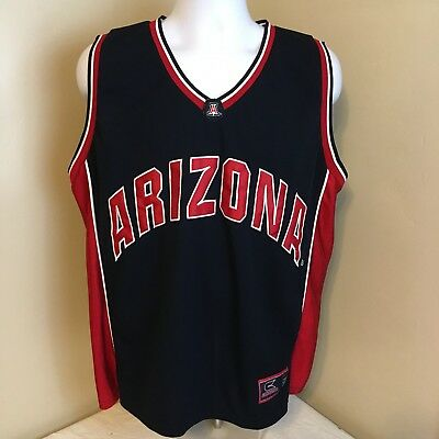32228b8fced Colosseum Mens Basketball Jersey Arizona Wildcats Stitched Sewn #22 XL Blue  Red