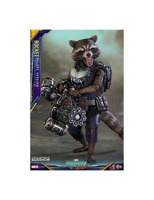 Hot Toys Guardians of the Galaxy Vol. 2 Rocket Deluxe Action Figure 1/6 16cm