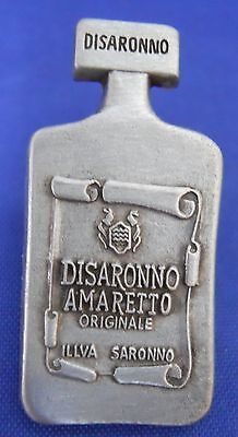 Disaronno Amaretto Liqueur Bottle Shaped Lapel Hat Pin Badge