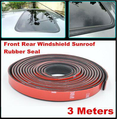 3M Car Windshield Sunroof Triangular Window Sealing Strips Waterproof Soundproof