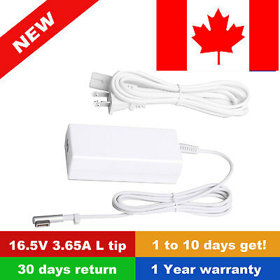 Macbook Pro Charger, Ac 60w Mg safe Power Adapter Charger for MacBook and 13