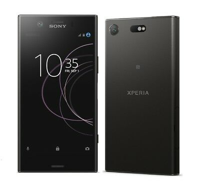 Sony XPERIA XZ1 Compact in Black Handy Dummy Attrappe - Requisit, Deko, Muster