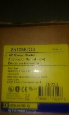 Square d 2510MC03 manual starter