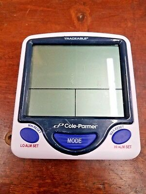 Cole-Parmer Traceable Digital Thermometer