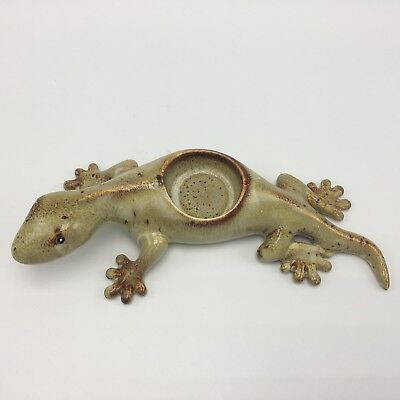 Partylite Tropical Gecko Tealight Candle Holder Retired New In Box P9672