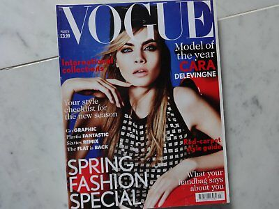 Vogue Magazine  March 2013