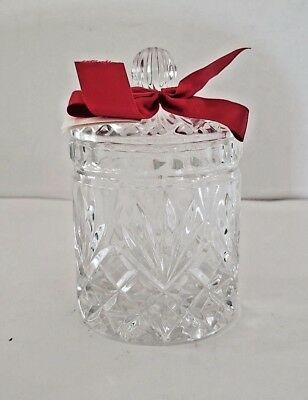 Avon Candy Jar 5 oz glass crystal lead glass gift collection