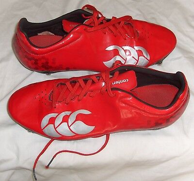 Canterbury Speed Club 6 Stud Rugby Boots MEN'S  UK 9