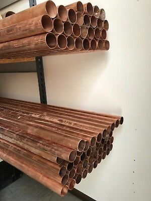JOB LOT 42mm Copper Tube Plumbing Pipe 28 x 3m lengths bulk purchase wholesale