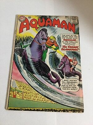 Aquaman 12 Gd Good 2.0 Silver Age