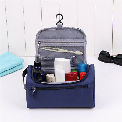 Hanging Travel Cosmetic Storage Makeup Bag Folding Toiletry Wash Organizer Pouch