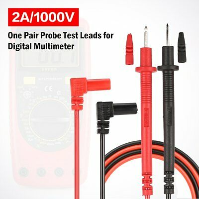Universal Probe Test Leads Pin Digital Multimeter Needle Tip Tester 2A/1000V FR