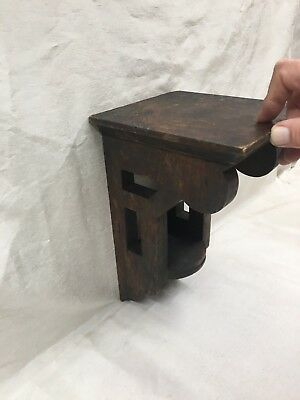 vintage wood shelf corbel
