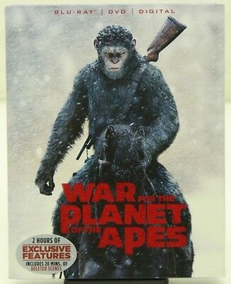 War for the Planet of the Apes (Blu-ray Disc & DVD ONLY) No Digital - Free Ship